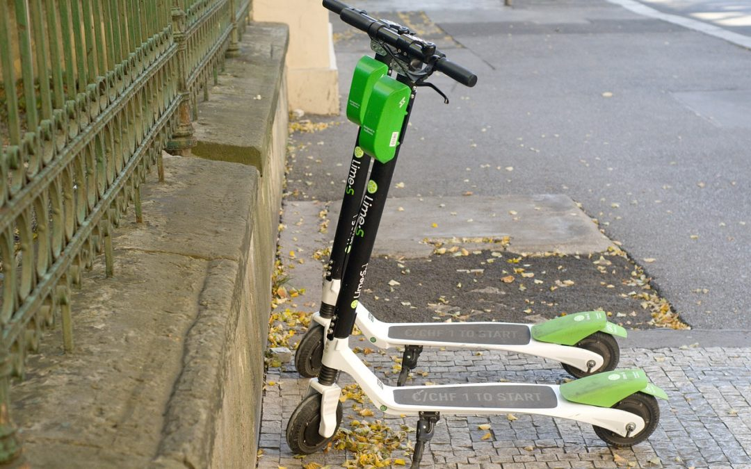 Lime -S Electric Scooter Sharing